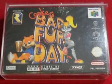 CONKERS CONKER'S BAD FUR DAY NINTENDO 64 NEUF PAL NEUF BLISTER RARE