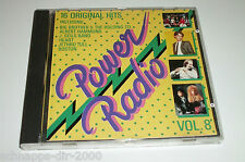 POWER RADIO VOL.8 / CD MIT BOSTON - ELO - JETHRO TULL - ALBERT HAMMOND - JOURNEY