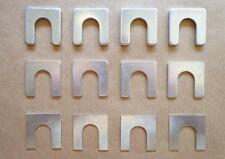 12 STOCK STYLE BODY SHIMS FOR 30's-60's HOODS, FENDERS, DOORS, FRONT ENDS, ..ETC