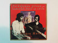 "CAMARON Y PACO DE LUCIA ""LA VIRGEN MARIA"" RARE SPANISH PROMO CD SINGLE"