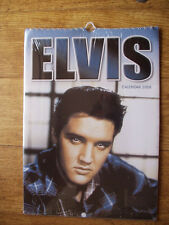 Elvis Presley  Calendar  from 2008  UK sealed / new  12 different pictures