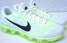 Nike Air Max TAILWIND 7 White/Volt/Black 683632-107 Men's Shoes Size 7.5