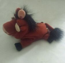 """Pumbaa from Disney The Lion King soft plush beanie toy 8 """""""