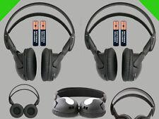 2 Wireless DVD Headsets for Lexus Vehicles : New Headphones Premium Sound