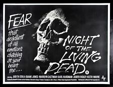 NIGHT OF THE LIVING DEAD CineMasterpieces 1968 ZOMBIE HORROR SKULL MOVIE POSTER