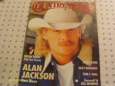 Alan Jackson Covers Country Music Magazine 1996 Bryan White Poster Suzy Bogguss