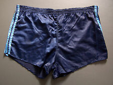 ADIDAS SPRINTERS SPORTS SHORTS MEN'S W38 in. DARK NAVY BLUE VTG # ITAX062