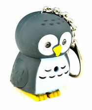 Owl Shape Key Ring Key Chain With Light And Sound