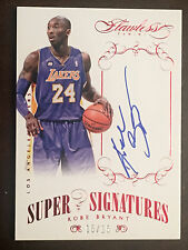 Kobe Bryant 2013-14 Flawless Super signatures auto RUBY 15/15 last one 1/1 SS-KB