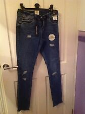Ripped River Island Denim Jeans, Size 8