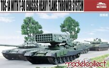 Modelcollect UA72003, TOS-1A with T-90 Chassis Heavy Flame Thrower System, 1:72