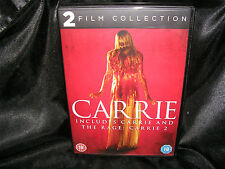 Carrie / Carrie 2 - The Rage (DVD, 2013, 2-Disc Set, Box Set), Trusted Ebay Shop