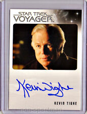 QUOTABLE STAR TREK VOYAGER KEVIN TIGHE AUTOGRAPH