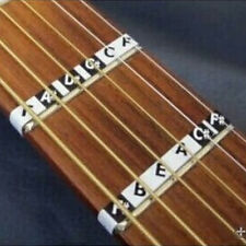New Guitar Neck Fretboard Note Map Fret Sticker Lables Decals Learn Fingerboard