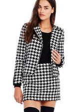 NWT Armani Exchange A|X $199 Houndstooth Jacket Black White XS 1 2 3
