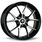 """19"""" BSA V-33 BLACK MACHINE FACE WHEELS AND TYRES FOR HOLDEN FORD"""
