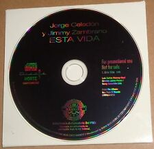 Jorge Celedon & Jimmy Zambrano - Esta Vida - Promo CD Single -2006 - Like new