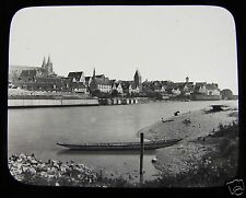 Glass Magic Lantern Slide ULM C1890 GERMANY