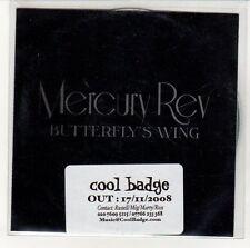 (EN558) Mercury Rev, Butterfly's Wing - 2008 DJ CD