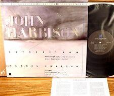 NONESUCH 1986 DIGITAL John Harbison PREVIN Ulysses Bow/Samuel Chapter 79129-1 NM