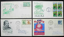 Artmaster CachetCraft FDC US Postage Set of 4 Covers Letters USA Brief (H-8272