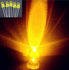 100pcs Wholesale High Quality Light Emitting Diode LED Lamp 5MM Yellow