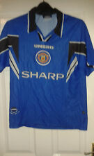 Mens Football Shirt - Manchester United - Third 1996-1997- Umbro Sharp - Size M