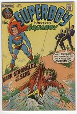 Superboy #171 Introduces Aquaboy (really?) Bronze Age Classic VGFN