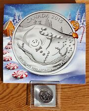 2015 Canada 99.99% Pure Fine Silver 20 Dollars Gingerbread Man $20 Coin UNC