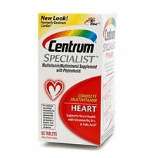 Centrum Specialist Heart Tabs 60 ea (Pack of 4)