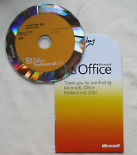Microsoft Office 2010 Professional DVD or Download - FULL VERSION PRO