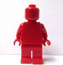 LEGO Plain Minifigure Red Head Body Torso Legs Leg