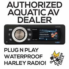 AQUATIC AV FACTORY HARLEY RADIO REPLACEMENT BLUETOOTH STEREO (FULL COLOR SCREEN)