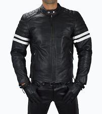 1089 Gr.XL leder Motorradjacke,Motorrad Jacke Biker Winter jacke Leather Jacket