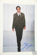"Zac Posen "" Fashion Designer "" 20x30cm Bild + Autogramm / Autograph in Person ."