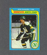 Ron Zanussi North Stars 1979-80 Topps hockey card