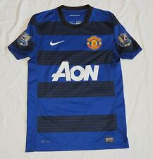 MANCHESTER UNITED Nike Away Shirt 2011/12 (S)