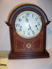 Howard Miller Barrister Mantle Clock 8 Day Key Wind Westminster chime