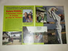 Stephanie Powers Kim Basinger Heston Wagner clippings France French