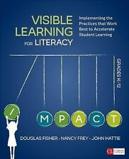 Corwin Literacy: Visible Learning for Literacy, Grades K-12 : Implementing the …