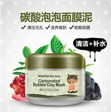 South Korean Parking Carbonate Oxygen Bubbling Mud Springs Anti-Aging Mask 100g