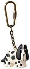 Lisa Larson Collectible Spotted Dog PVC Keychain Key Ring