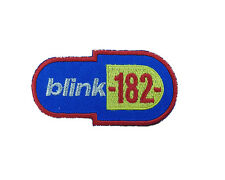 BLINK 182 Embroidered Iron On or Sew On Patch UK SELLER Patches