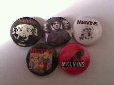 5 Melvins Pin Button badges 25mm Houdini A History of Bad Men Grunge Hooch