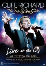 Cliff Richard Live the Soulicious Tour NEW R4 DVD