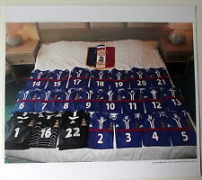 Photo maillots Equipe de France,Rotterdam ,football,2000,grand format