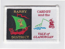 UK / BRITISH SCOUTS - WALES CARDIFF & THE VALE OF GLAMORGAN BARRY SCOUT PATCH