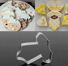 Edelstahl-Baby Kleidung Patterrn Kuchen Cookie Brot Keks dekorieren Formen