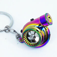 NEOCHROME Rechargeable turbo keyring keychain with LED light and BOV sound