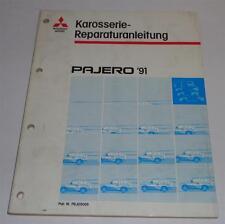 Officina Manuale MITSUBISHI PAJERO v20 carrozzeria nell'anno modello 1991